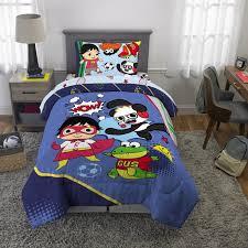 Ryan S World Bed In A Bag Kids Bedding Bundle Set 4 Piece Twin Walmart Com Walmart Com