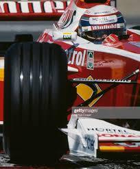 Alex Zanardi of Italy drives the Winfield Williams Williams FW21 ...