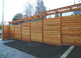 Custom Fence With Grape Trellis Seattle Urban Farm Company
