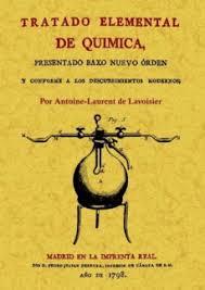 TRATADO ELEMENTAL DE QUIMICA | ANTOINE LAURENT DE LAVOISIER ...