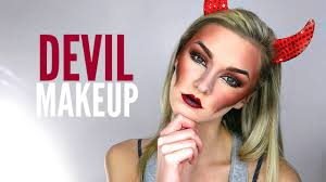 devil makeup tutorial halloween