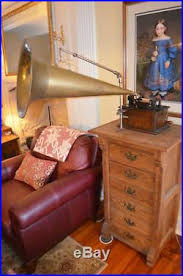 antique edison cylinder phonograph 80