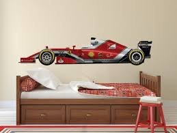 Formula 1 Car Wall Decal Race Car Decal Indie Race Car Etsy