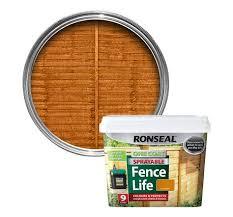 ronseal harvest gold matt shed fence