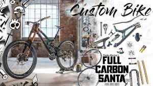 sick bike build santa cruz v10 flip