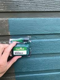 Cuprinol Garden Shades Sage Green Colour On Shed Painted Garden Sheds Cuprinol Garden Shades Shed Makeover