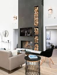 stylish ways to firewood indoors