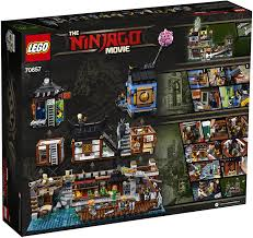 Amazon.com: THE LEGO NINJAGO MOVIE NINJAGO City Docks 70657 Building Kit  (3553 Pieces) (Discontinued by Manufacturer): Toys & Games