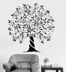 Vinyl Wall Decal Family Tree Of Life Nature Garden Home Decoration Sti Wallstickers4you