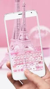 الوردي برج ايفل لوحة المفاتيح For Android Apk Download