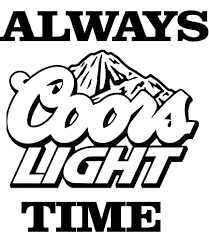 Amazon Com Coors Light Decal Sticker Handmade
