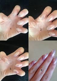 how to file acrylic nails sti