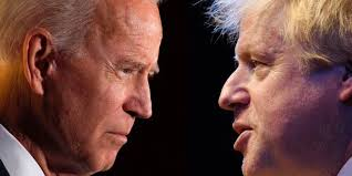 """Effie Deans's tweet - """"Britain's has two strategic tasks 1 Make Brexit a  success 2 Maintain the territorial integrity of the UK If Mr Biden helps  these great, if he hinders, ignore"""
