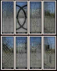 glass window door inserts campbell