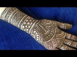 Beginner Mehndi Design Simple Full Hand Easy