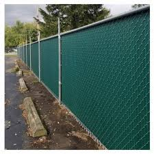 Aluminum Privacy Slats For Chain Link Fence Diagonal Style Hoover Fence Co