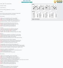 tab song sheet guitar ukulele