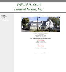 willard h scott funeral home