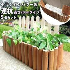 diy flower garden fence
