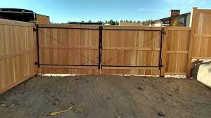Clear Cedar Shadow Box With 16 Foot Rv Gate Somerset Fencing Decks Inc Facebook