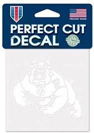 Amazon Com Wincraft Ncaa Fresno State University Bulldogs Logo 4 X 4 Inch Outdoor White Decal Sports Outdoors