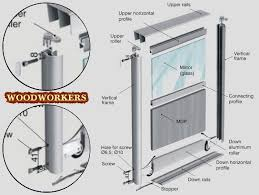 assembling sliding wardrobe doors