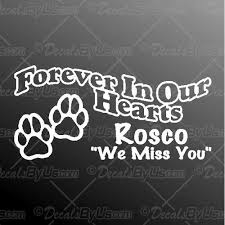 The Best Buys On Forever In Our Hearts Pet Car Decals