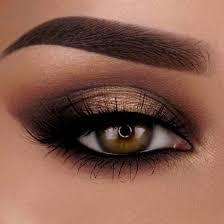 light wedding makeup for brown eyes
