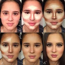 makeup tips round face small eyes