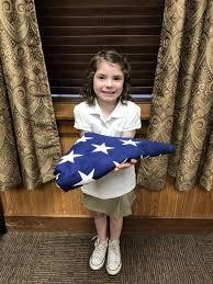 Giamalvia presents flag to Springfield Elementary School | Living |  livingstonparishnews.com