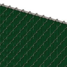 Pds Ws Chain Link Fence Slats Winged Slat 6 Foot Green