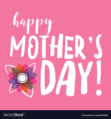 Happy Mothers Day Message Royalty Free ...
