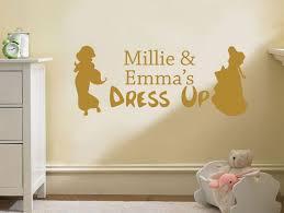 Child S Personalised Dress Up Wall Art Sticker Vinyl Decal Transfer Nursery