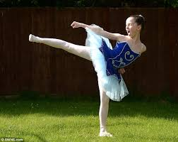 Taekwondo fighter Ava May Llewellyn, 11, scoops place at world famous Royal  Ballet School | Daily Mail Online