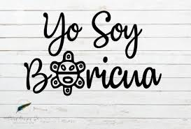 Yo Soy Boricua Vinyl Decal Sticker Puerto Rico Car Decal Etsy