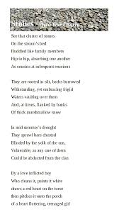 Stones / Myra Ward Barra – Poetry Society of Michigan