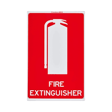 Sandleford 300 X 225mm Fire Extinguisher Plastic Sign Bunnings Warehouse
