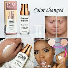 us makeup base color change face