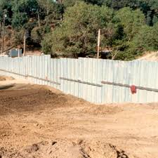 Ribbed Sheet Metal Metric Sheeting Contech Steel For Retaining Walls Galvanized