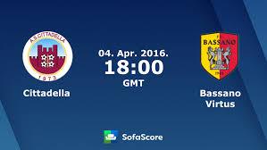 Cittadella Bassano Virtus live score, video stream and H2H results ...