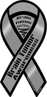 4 18 Brain Tumor Awareness Car Ribbon Vinyl Decal Find A Cure Support Ebay
