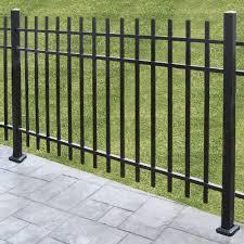 Aluminum Fence Post Surface Kit Peak Products Canada