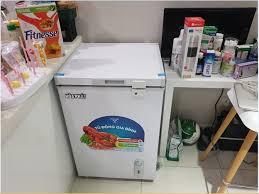 Tủ đông mini Hòa Phát HCF106S1N - 100L dàn nhôm