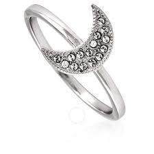 swarovski las moon ring size 58