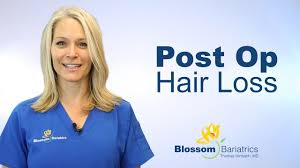 post op hair loss blossom bariatrics