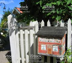 Wood House Letterbox Stock Photo Download Image Now Istock