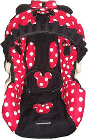 red and white polka dot minnie mouse