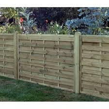 Square Horizontal Fence Panel 1800mm X 1200mm Worcester Timber Products