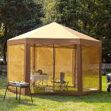 outdoor patio hexagon gazebo pop