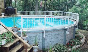Gli Above Ground Pool Fence Base Kit Simply Fun Pools